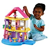 Fisher Price Dolls House - Black Family