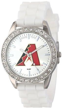 Game Time Ladies MLB-FRO-ARI Frost MLB Series Arizona Diamondbacks 3-Hand Analog... by Game Time