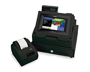 Royal TS4240 LCD Touch Screen Restaurant and Retail Cash Register with Thermal Receipt Printer