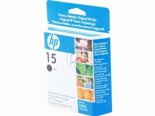 HP - Hewlett Packard PSC 720 (15 / C 6615 NE) - original - Druckerpatrone schwarz - 310 Seiten - 14ml