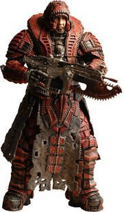 Neca Toys Action Figure - Gears of War 2 Series 4 - MARCUS FENIX (Theron Disguise) (7 inch) by Gears of War
