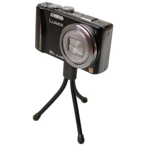 Foto Video Stativ Mini schwarz für Aiptek PocketCam 8900 PocketDV 5700 PocketDV 8700 PocketDV 8800 LE