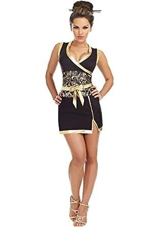 Amazon.com: Dreamgirl Women's Kabuku Geisha Dancer Costume: Clothing