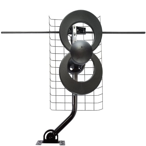 New Antennas Direct C2-V-CJM ClearStream 2-V Long Range UHF/VHF Indoor/Outdoor DTV Antenna with 20-I...