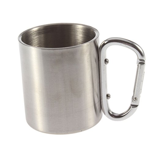 ainest-220ml-stainless-steel-outdoor-camp-camping-cup-carabiner-hook-double-wall-fe
