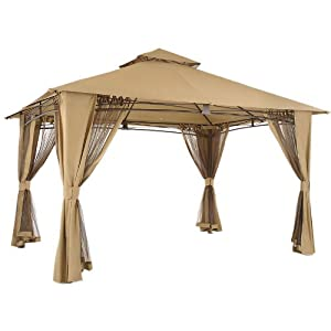 Spectacular RIPLOCK FABRIC Replacement Canopy for the Waterford Gazebo u x u
