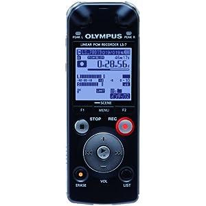 OLYMPUS リニアPCM ICレコーダー LS-7 4GB microSDスロット 3マイクシステム「トレスミック」