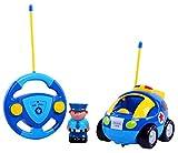 Kobwa(TM) Cute Cartoon RC Race Car Radio Control Toy for