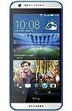 HTC 620G Desire Smartphone, Display LCD da 5'' HD, 8 GB, Dual SIM, Bianco/Blu [Italia]