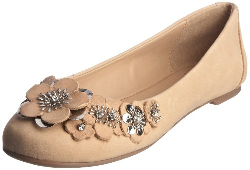 Carvela Women's Lilly Natural Ballet Flat Leather 1973348109 8 UK