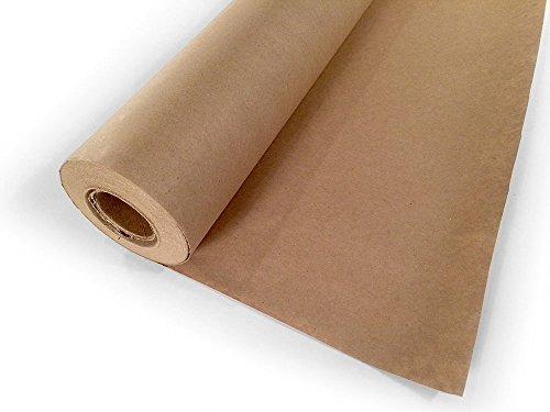 Kraft Paper Jumbo Roll Packing Wrap Craft Butcher Mail Brown 30