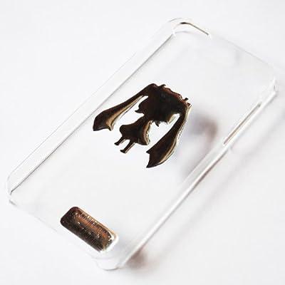 Wakuwaku Miku(ワクワクミク)の iPhone5対応 iPhoneカバー(クリア)+オリジナルMiniタッチペン+Mikuポッティングシール+デコパーツ(ラインストーン20個)