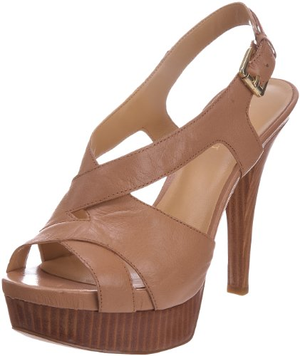 Nine West Women's Caetlin Camel Open Toe Heel 2122748109 8 UK