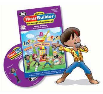 HearBuilder Phonological Awareness Interactive Software Program Home Edition - Super Duper Educational Learning Toy for Kids