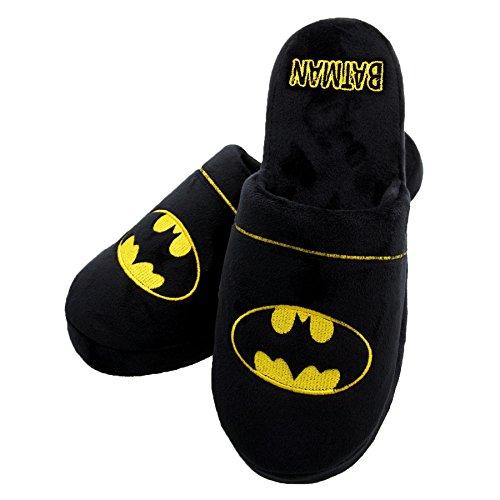 batman-dc-comics-mens-garcons-logo-mule-pantoufles-tailles-5-7