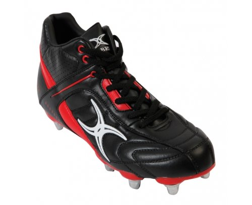 GILBERT Sidestep Barbarian Mid 6 Stud Junior Rugby Boots