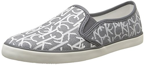 Calvin Klein Jeans - Raz, Sneakers da donna, Grigio (Gris (Pwr)), 38