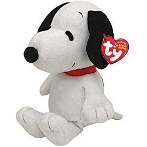 Ty Beanie Baby Snoopy with Sound