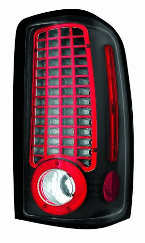 Ipcw Ledt-304Cb Bermuda Black Led Tail Lamp - Pair