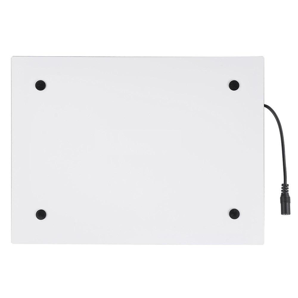 "14"" LED Artist Stencil Board Tattoo Drawing Tracing Table Light Box Pad Adapter"