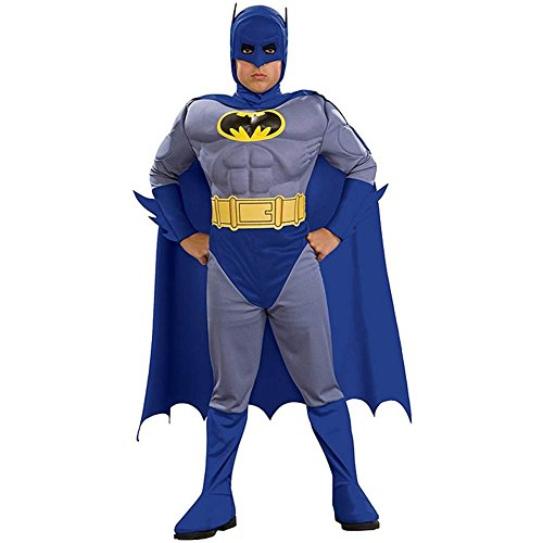 Deluxe Batman Muscle Chest Toddler Costume - Toddler