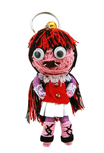 Draculaura Monster High Students Voodoo String Doll Keychain Keyring