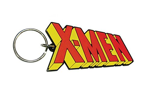 Marvel comics X-Men Logo new Official Rubber Keychain
