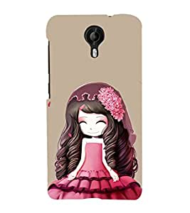 Ebby Premium Printed Mobile Back Case Cover With Full protection For Micromax Canvas Nitro 4G E371 (Designer Case)
