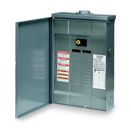 Square D By Schneider Electric Qo Plug-On Neutral 100 Amp Main Breaker 24-Space 24-Circuit Outdoor Load Center