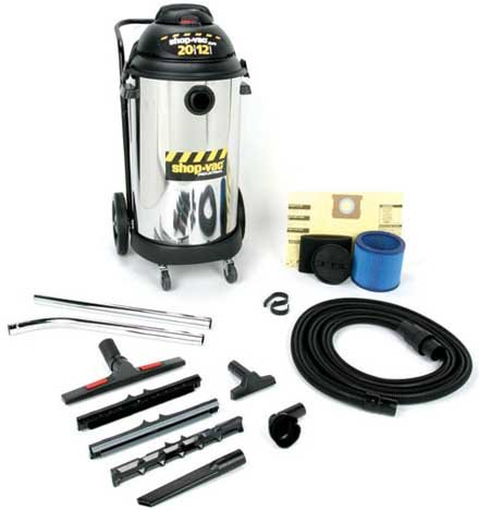 Buy Shop Vac Two-Stage, 20 gallon stainless steel tank (Shop Vac Power Tools,Power & Hand Tools, Power Tools, Vacuums & Dust Collectors, Wet-Dry Vacuums)