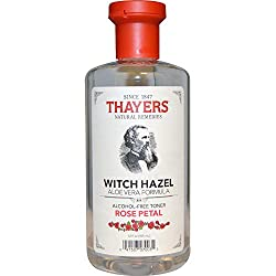 Thayers Alcohol-Free Rose Petal Witch Hazel with Aloe Vera, 12 Fluid Ounce