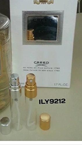 Creed Aventus, 10 ml, in vetro con nebulizzatore, Eau de Parfum for Him/-Spray, 100% originale Decanted partita Y11