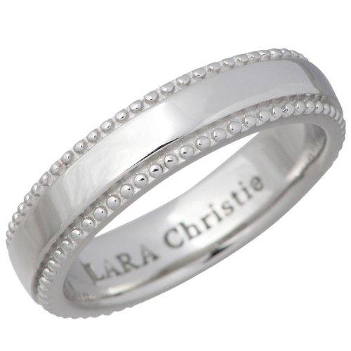 LARA Christie ララクリスティー ギャラクシー シルバー リング ホワイト 7~15号 指輪 LA-R6030-W