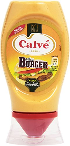 Calvãš - Salsa, Burger - 260 G 250 Ml