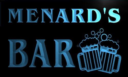 w003027-b-menards-nom-accueil-bar-pub-beer-mugs-cheers-neon-sign-biere-enseigne-lumineuse