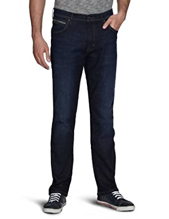 Wrangler - Jean - Straight Fit - Homme - Bleu (Windsor Blues 32Q) - FR : 30W/32L (Taille Fabricant : 30/32)