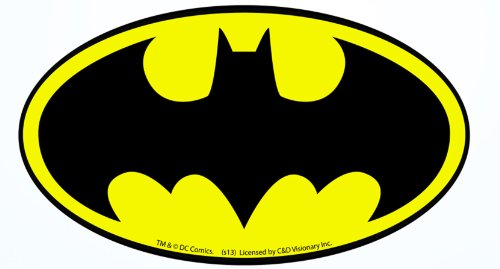 Licenses Products DC Comics Batman Logo Sticker