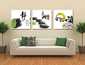 Bernice-Canvas Art,3p Art Deco Modern Abstract Wall Art Painting on Canvas,Calligraphy Painting,Hot Sell Fashion Home Decoration(no framed) by canvas art