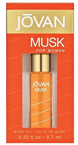 Jovan, Musk Oil, Olio profumato, 9,7 ml