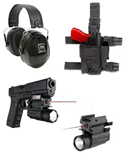 Ultimate Arms Gear Tactical Range Kit Includes: Glock Logo Peltor Hearing Protection... by Ultimate Arms Gear