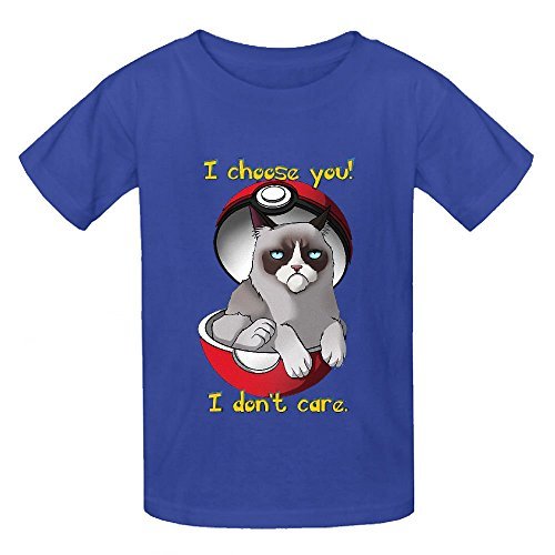 grumpy-cat-boys-crew-neck-personalized-shirts-blue