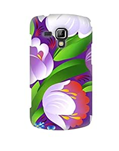 Pick Pattern Back Cover for Samsung Galaxy S Duos S7562