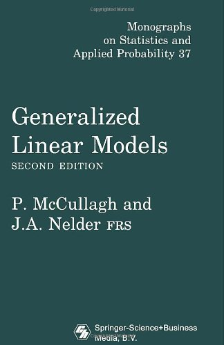 Generalized Linear Models, Second Edition (Chapman & Hall/CRC Monographs on Statistics & Applied Probability) (Generalized Linear Models compare prices)