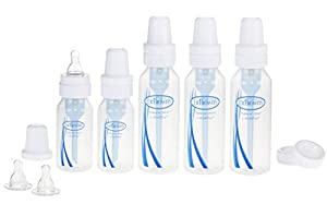 Dr. Brown's BPA Natural Flow Bottle Newborn Feeding Set (Packaging may vary)