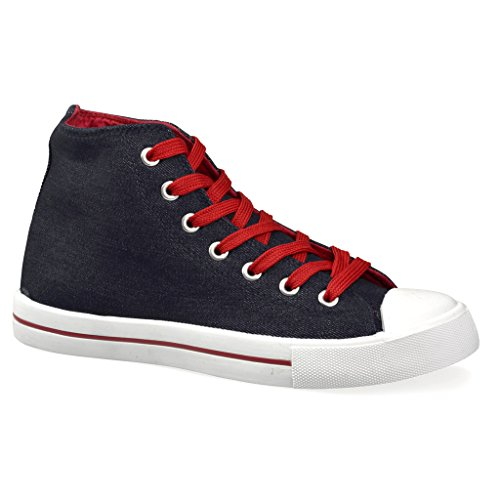Twisted Women's KIX Hi-Top Casual Fashion Sneaker