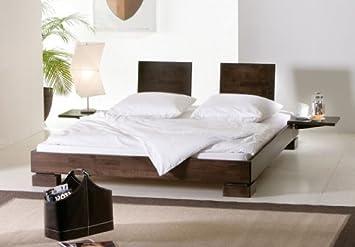 Stilbetten Bett Holzbetten Lixo dark swing Buche Natur 160x200 cm