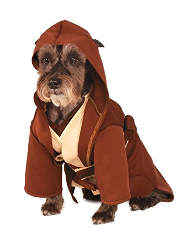 Rubies Costume Company Star Wars Classic Jedi Robe Pet Costume, Large