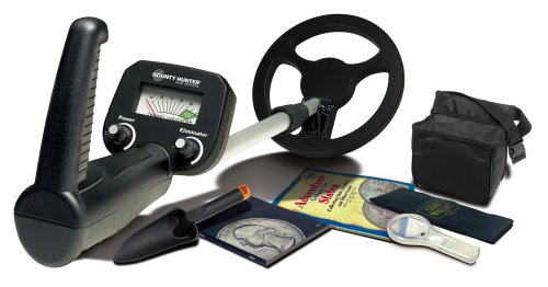 Bounty Hunter Educational Junior Metal Detector with Coin Collecting Kit