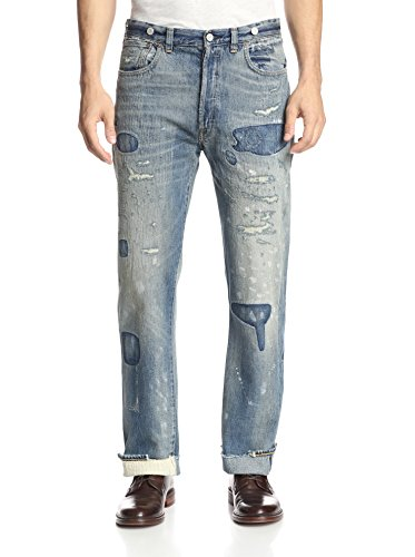 Levi's Vintage Clothing Men's 1933 501 Selvage Relaxed Fit Jeans