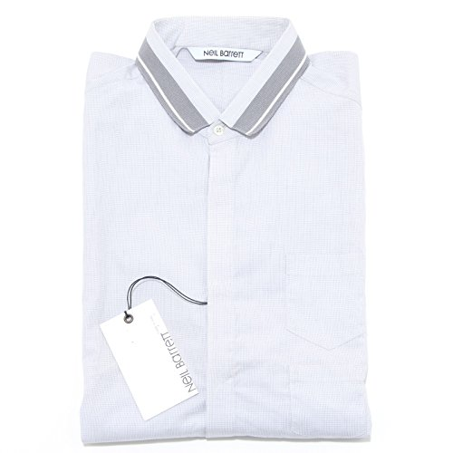 23364 camicia NEIL BARRETT camicie uomo shirt men [16 (41)]